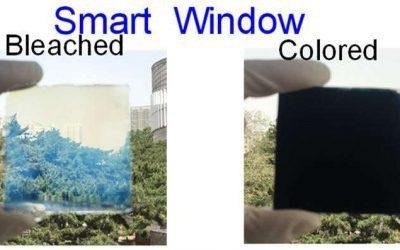 Jendela Pintar Mengontrol Cahaya dan Antimikroba