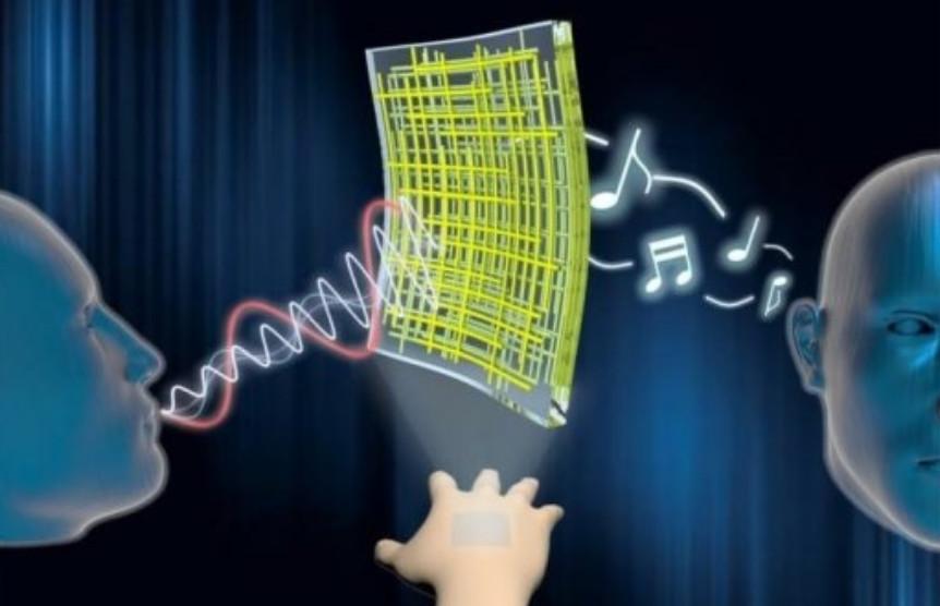 Teknologi Nano Ciptakan Pelantang Yang Melekat Pada Kulit