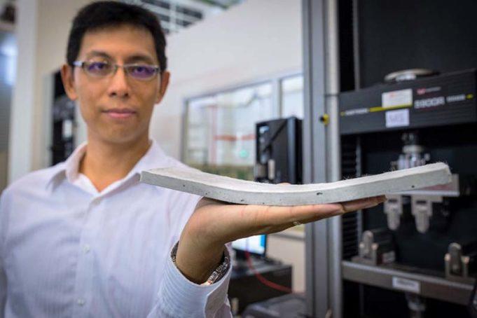 Beton Microfiber Lebih Lentur dan Mempercepat Pekerjaan