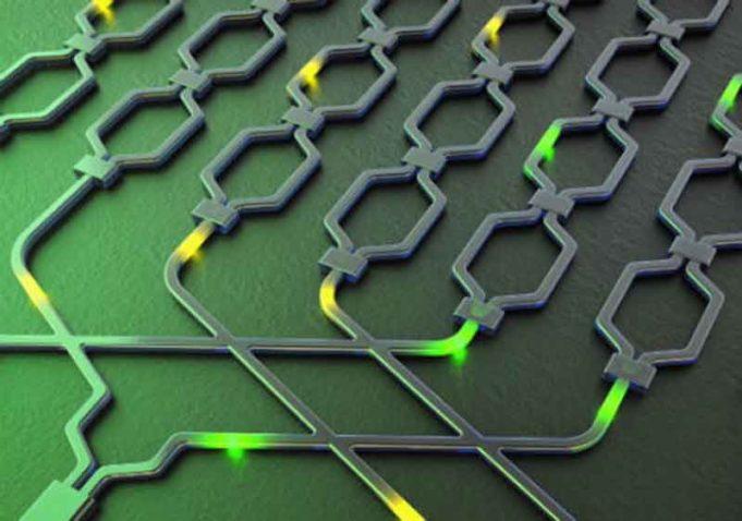 Chip Silikon Multiguna Untuk Pemrosesan Informasi Kuantum