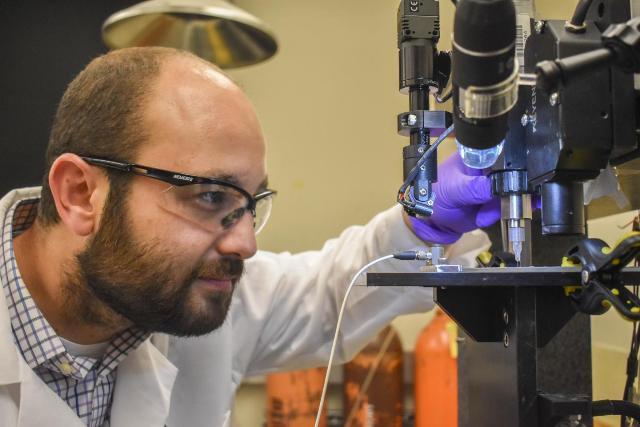 Biosensor Pemantau Gula Darah 3D