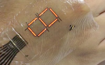 Sistem Saraf Responsif Untuk Kulit Elektronik